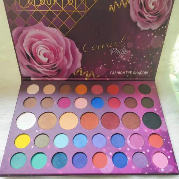Colourpop makeup 39 colors eye shadow palette Carnival party edition matte & shimmer eye pressed powder DHL free
