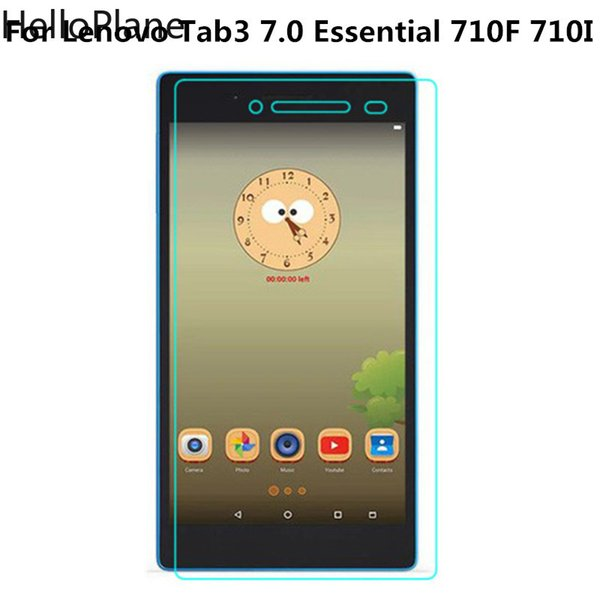 top popular Tempered Glass For Lenovo Tab 3 7 Essential TB3-710F TB3-710i 710F 710i 730 730F 730M Plus 7703 7703X P7 Screen Protector Film 2019