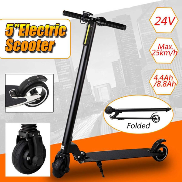 "24V 5"" Hoverboard Two Wheels Electric Scooter Patinete Aluminium Alloy Adult MINI Portable Folding Balancing Scooter Skateboard"