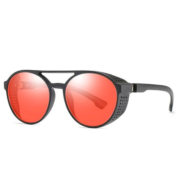 Estilo Steampunk do vintage Das Mulheres Dos Homens Óculos De Sol Clássico Rodada Quadro Óculos de Sol Eyewear Shades Oculos de sol Gafas UV400