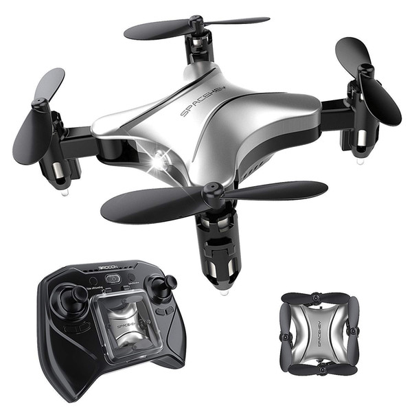 Spacekey DC65 Mini RC Drone for Kids,Good for Beginners,Quadcopter with Altitude Hold, Headless Mode, 3D Flip Function and Foldable Arms