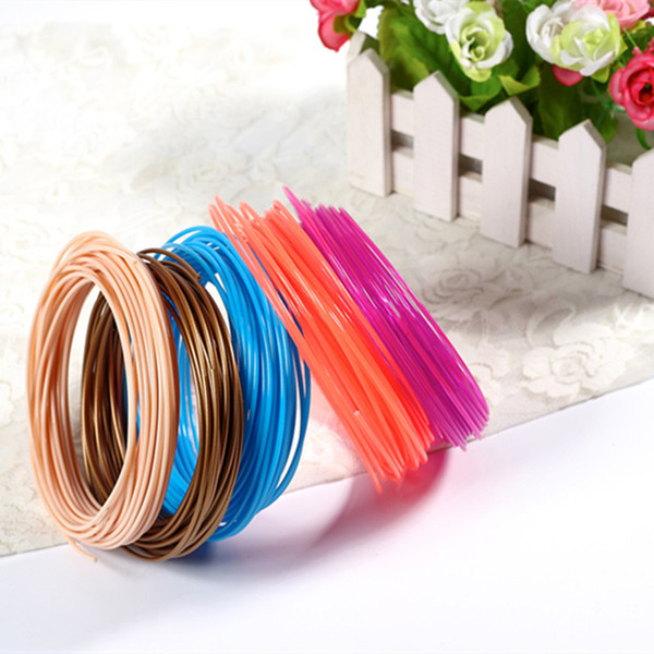 Hot sale PLA Filament 1.75mm 30 different colors 5M/Color all 3D Pen Filament 3D Printer SGS Approval Material For 3D Printing Pen C21