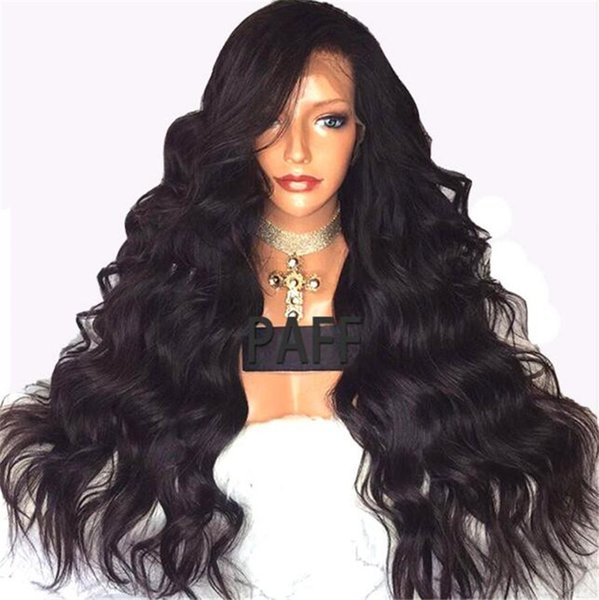 Human Hair Wigs For Black Women Natural Hairline Brazilian Lace Front Wigs Baby Hair Loose Wave Full Lace Wigs Bleached Knots