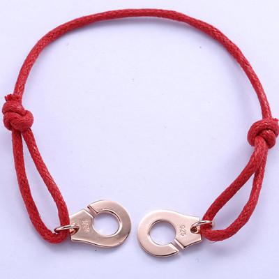 Red Rope Add Rose Gold
