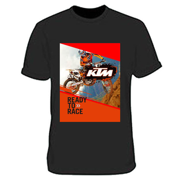 Ready to Race MX Riders Racing Sport T-Shirt Tee Men's Tshirt Size S to 3XL