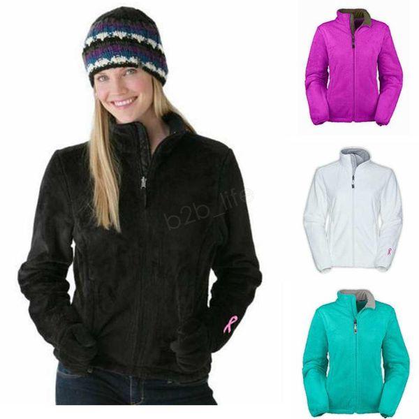 winter female fleece jackets hooded plush ribbon warm women coat windproof outdoor casual softshell down sports hoodie sweatshirt ljja2795