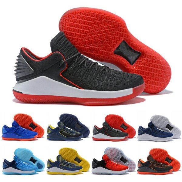 Nike Air Jordan 32 AJ32 Новые 32 Мужская Баскетбольная Обувь Высокого Качества XXXII 32-х Шершни Уличной Обуви Назад В Школьный Сезон Кроссовки Размер 40-46
