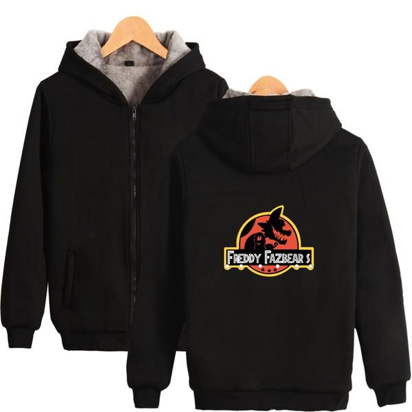 Fnaf hoodies and sweatshirts Five Nights At Freddys Jacket Autumn Long Sleeves Cartoon Bear FNAF Hoodie Men's Sweatshirts