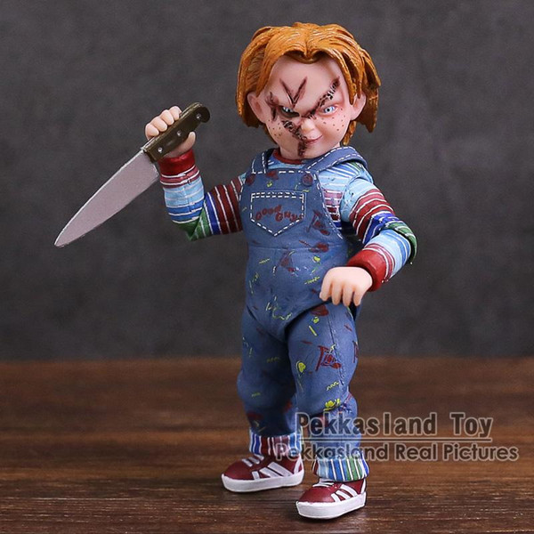 NECA Child's Play Good Guys Chucky PVC Figura de Acción de Colección Modelo de Juguete