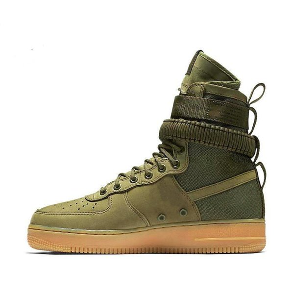 007 Special Field SF AF1 Mid Running Shoes For Men and Women 9 Color Sports Shoes SF AF1 Athletic Sport Trainers 36-45