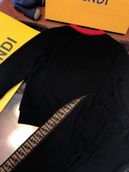 Zweiteilige Outfits 2019 Wird Kind Luxus Designer Anzug Kinder Reine Baumwolle Mädchen Einfarbig Baby Kinder Kleidung Set Kleidung fenash10