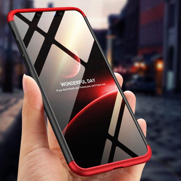 Pour iPhone XS Case De Luxe 360 Full Body Dur Givré PC Couverture Arrière Cas pour iPhone-Xs max Protection Sac Shell