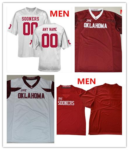 ncaa college Oklahoma Sooners Cody Ford 74 Neville Gallimore 90 Kenneth Mann 55 Trikots MEN WOMEN YOUTH Weiß grün orange Fußballtrikot