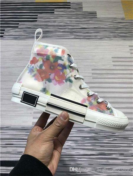 Оптовые B23 Nouveau Наклонные низкие высокие кроссовки Hommes кроссовки Скейтборд Chaussures Повседневная Femmes Skate Chaussures Femmes Повседневная обувь