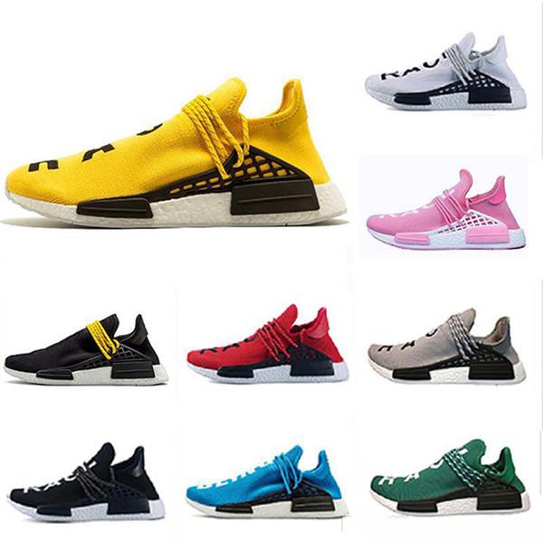 2019 Barato HUMANO Pharrell Williams Hombre Mujer Mc Tie Dye Solar Pack Moda para hombre de lujo para mujer diseñador sandalias zapatos