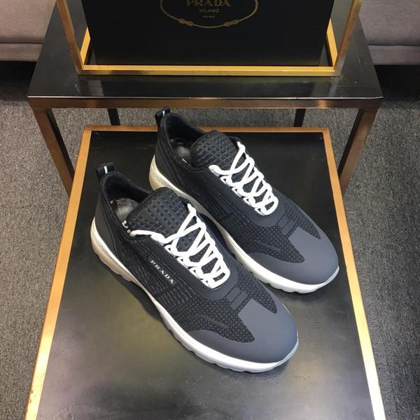 Zapatos ocasionales de los hombres del partido del diseñador de lujo 2019vv, zapatos de los deportes de los hombres salvajes de la moda al aire libre, tamaño: 38-45
