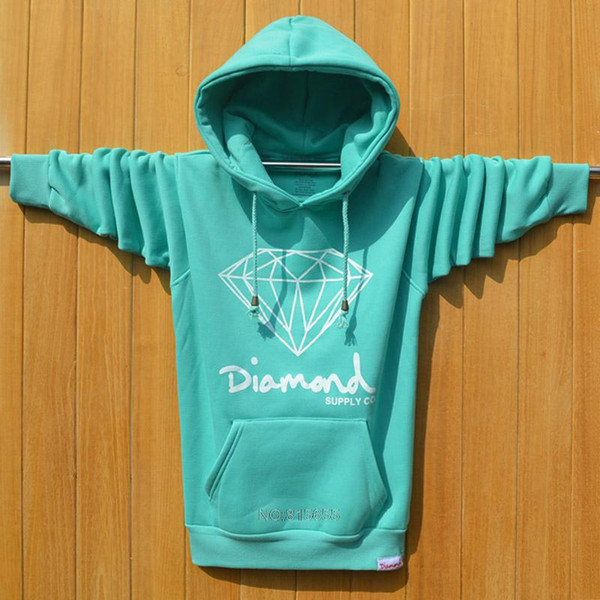 2019 Großhandel Diamond Supply Co Männer Hip Hop Hoodies Sudaderas Hombre Männer Sweatshirt Mit Kapuze Skateboard Pullover Moleton Masculino großhandel