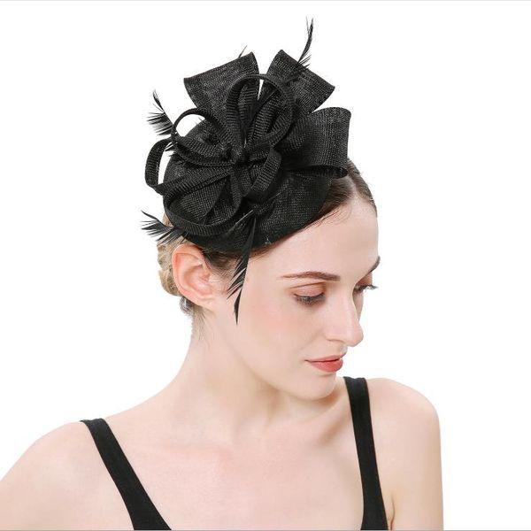 Feather Jewelry Headdress Euro-American Wedding Bride Hair Ornament Hairpin Hairpin