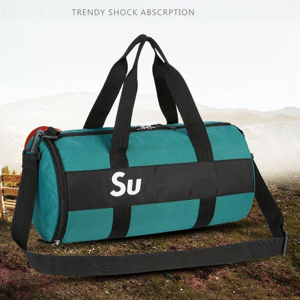 El nuevo diseñador de la marca de llegada Bolsas de gran capacidad Deportes gimnasia del Duffle la bolsa de mensajero bolsa impermeable al aire libre Bolsas de viaje Mochila Bolso Deportes