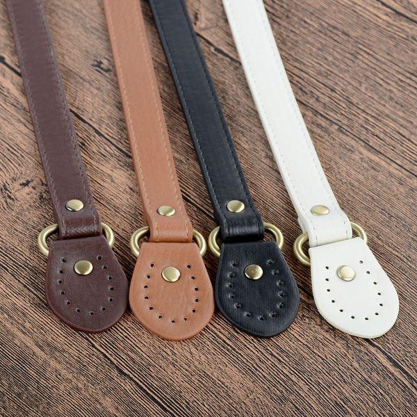 Detachable Replacement 60*1.8cm PU Leather Shoulder Bag Strap Handbag DIY Strap Handle Replacement 3 Color Bag Accessories
