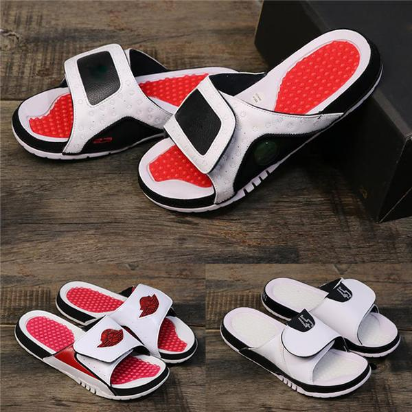 Concord 11 designer sandals for Mens 13 slides HYDRO 2 Summer Flat Thick Luxury Shoes White red black women Beach Slipper Flip Flop