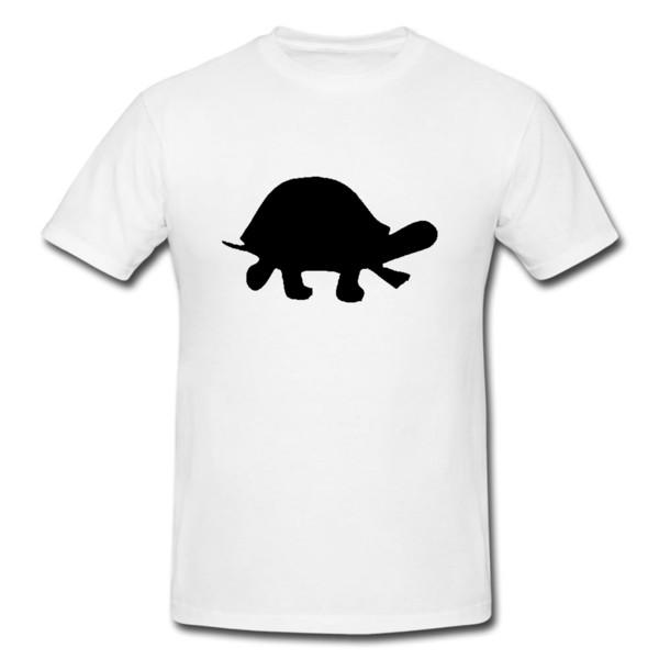 TARTARUGA Mens ou Lady Fit T Shirt - T-Shirt Engraçado Presente New 2018 Hot Verão Casual T-shirt de Impressão dos homens T-shirt Legal