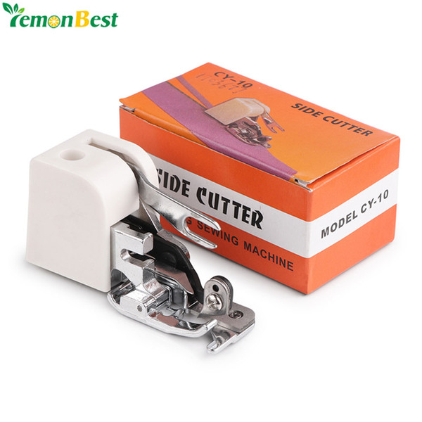 overlock Side Cutter Foot Overlock Presser Feet For Sewing Machines Attachment Accessory for All Low Shank Singer Janome Brother