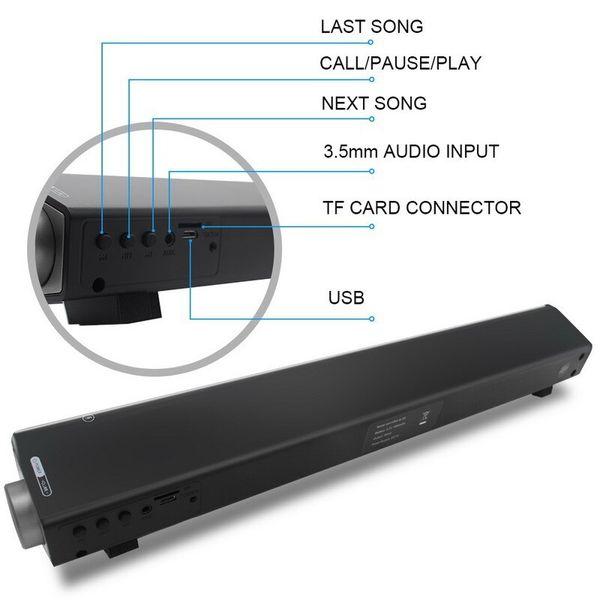 Wireless Subwoofer Bluetooth Speaker Mini Subwoofer Wireless Card Bluetooth Fit for Mobile Phone PC Bluetooth 3.0 High Quality