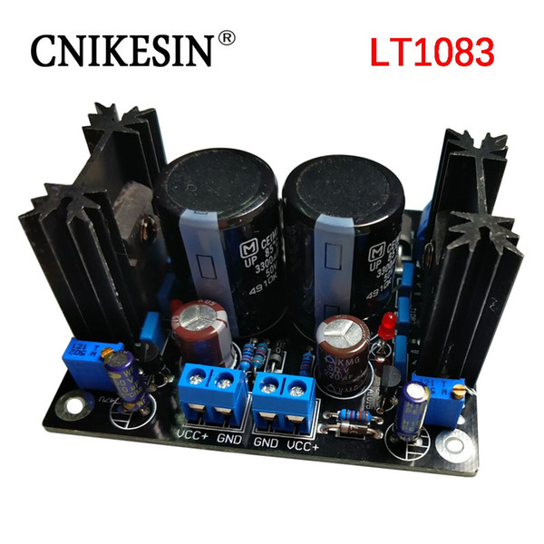 2019 Sliding Type LT1083 High Power Adjustable Voltage Stabilizing Power  Supply Board HIFI Linear Power Output From Sbxiang, $27 28   DHgate Com