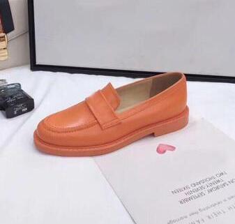 Sapatos casuais da mulher Sapatos de Couro Genuíno Designer de Qualidade Melhor Apartamentos Sapatos mocassins Sapatos Franceses talen14