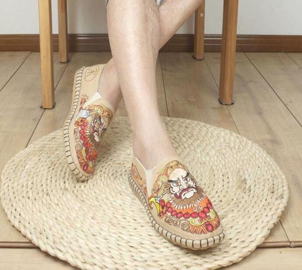 Designer männer Espadrilles Top Qualität Luxus Echt oxford Frauen Flache Schuhe Mode Komfortable beiläufige müßiggänger
