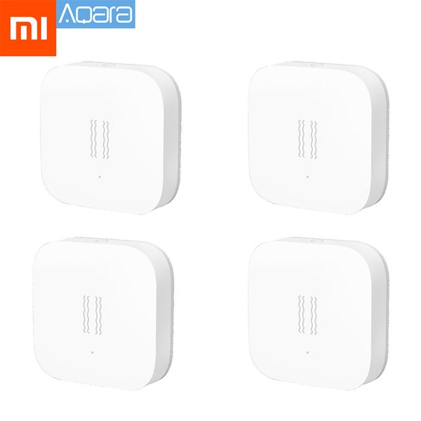 Xiaomi Aqara Smart Vibration Sensor ZigBee Sensor for Home Safety, for Siaomi Mi Home App International Edition