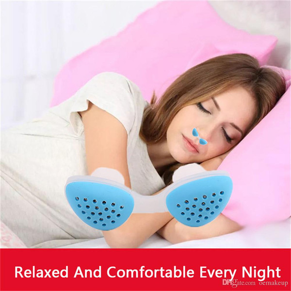 2019 Upgraded Silicone Anti Snore Device Nasal Dilators Apnea Stop Snoring Stopper Nose Clip Anti-snore Clean Air Purifier