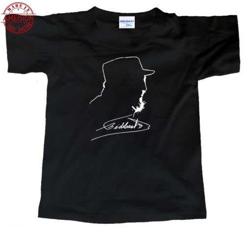 2019 New Fashion Men T shirt fidel Castro (Cuban Revolution Book Anarchism Signature Photo Vintage) Tee Shirt