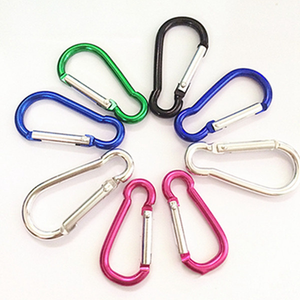 Multi colori all'ingrosso ampiamente usato in giocattoli borse zaini bollitore portachiavi collegamento chiave non dissolvenza resistenza all'usura catena chiave DH0149 T03