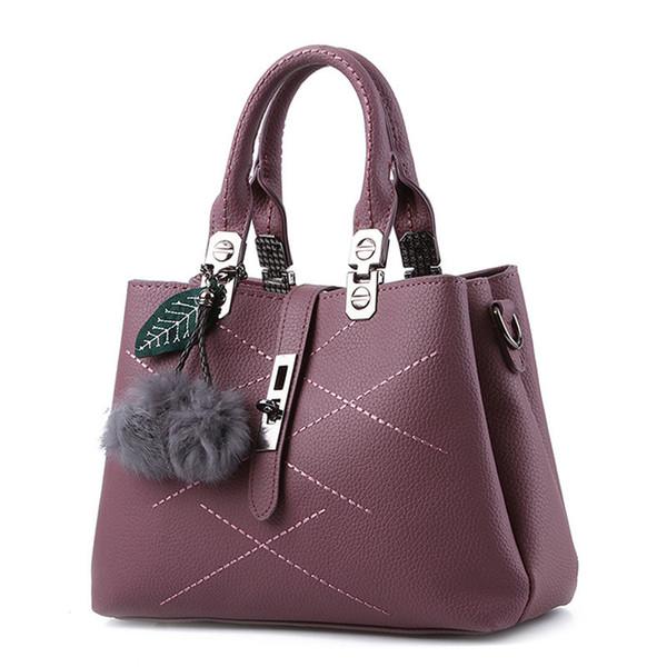 Designer Handbags brand women hairball ornaments totes solid sequined handbag hotsale party purse ladies messenger crossbody shoulder bags