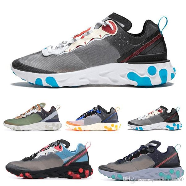 Blue Chill Solar Red Neptune Royal Tint React Element 87 Undercover Men Running Shoes For Women Designer Sneakers Sports Trainer Shoes