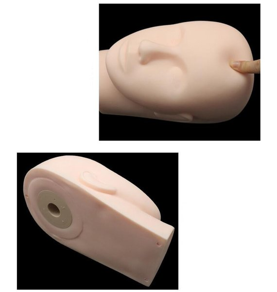 Make Up Training Mannequin Head Model - Womens Closed Eyes Makeup Eyelash Extension Practice Manikin Models Doll Head