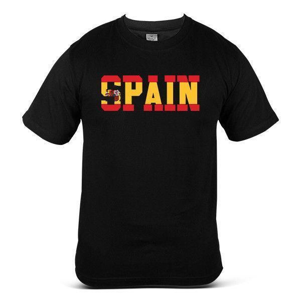 World cup 2018 Spain Football Streetwear Soccer Top Jessy Mens Tee T-Shirt