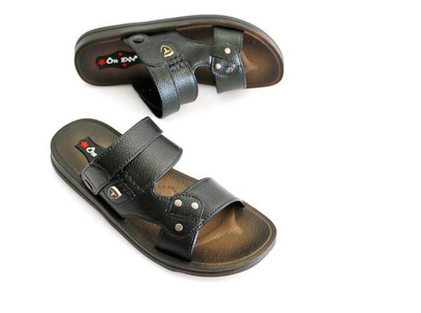 Sandali estivi nuovi di grande formato Sandali da uomo classici tinta unita leggeri di alta qualità 177