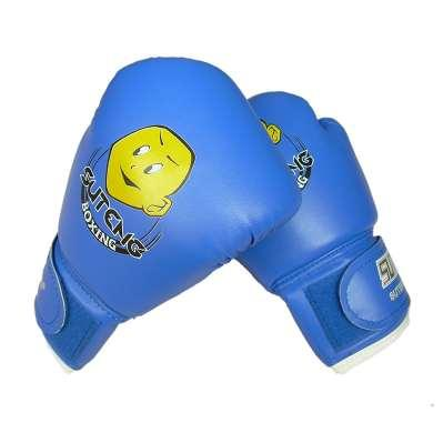 High Quality Child 1 Pair Durable Boxing Gloves Cartoon Sparring Kick Fight Gloves Training Sanda Fists PU Leather Muay Thai