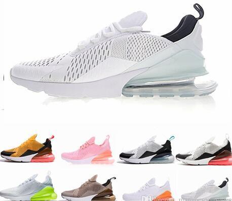 2019 zapatos Max270 KPU zapatos para correr de plástico barato 270 s hombres entrenando al aire libre de alta calidad para hombre entrenadores zapatos zapatillas de deporte casuales
