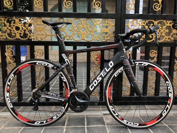 Costelo Speedcoupe sky color 2.0 carbon road bike frameset 2018 Costelo bicycle bicicleta frame carbon fiber bicycle frameset