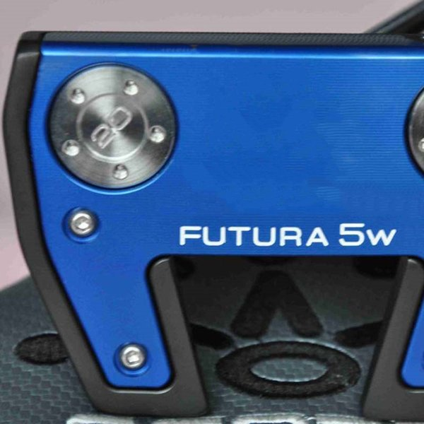 FUTURA 5W centre shaft blue black golf putter steel shaft with rod cover golf clubs free shipping