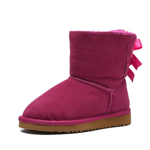 ankle boots pink