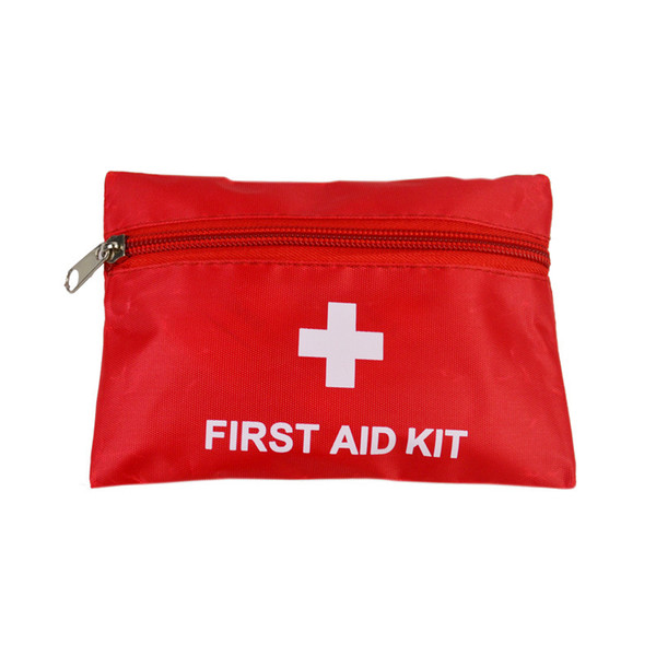 First Aid Kit Medical Outdoor Camping Survival Storage Bag Mini Travel Emergency Treatment Empty Bag 16x11cm ZC1387