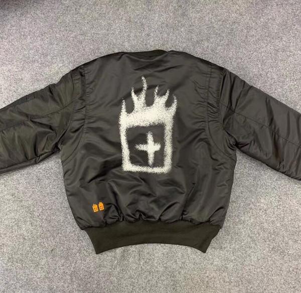 Трэвис Скотт Ksubi светоотражающая куртка бомбардировщика Мужчины Женщины странные вещи мужчины куртка Трэвис Скотт ASTROWORLD хлопок-ватник куртка S-XL