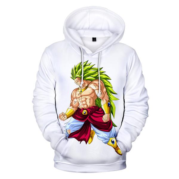 2019 New Arrival Super Broly 3D Hoodies Men/women Autumn Fashion Casual Anime Hoodie 3D Print Sweatshirt