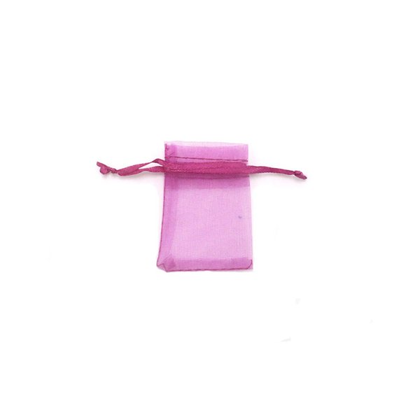 Wholesale 2000pcs 5x7cm Colorful Organza Bags Christmas&Hallowmas&Birthday Gift Display&Packaging Bags Can be Customized