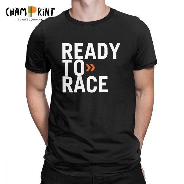 T-shirt pour hommes prêt à la nouveauté Tops Enduro Cross Motocross Bitume Vélo Life Tees Vêtements Coton Imprimé T-Shirt Plus La Taille
